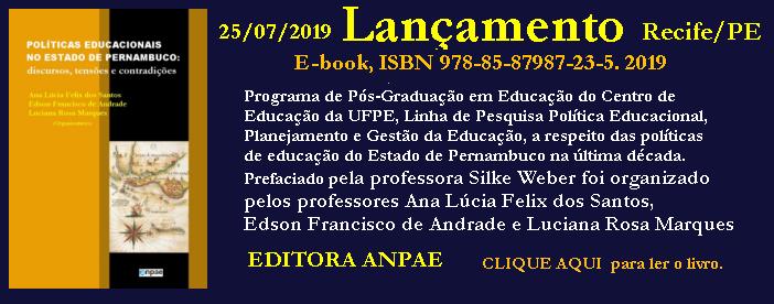 LANÇAMENTO DE LIVROS DA EDITORA ANPAE